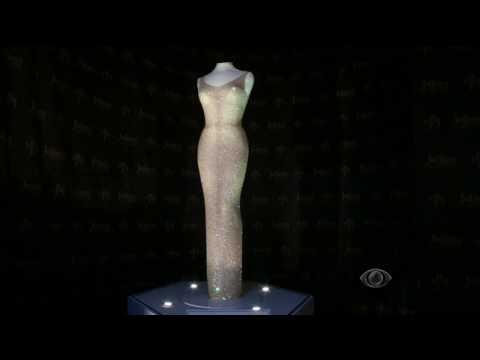 Vestido de Marilyn Monroe é leiloado por R$ 16 milhões