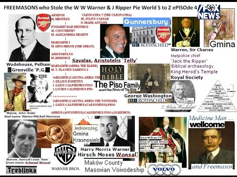 FREEMASONS who Stole the W W Warner & J Ripper Pie World S to Z ePISOde 4