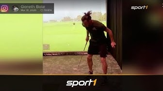 Nach Ärger bei Real Madrid: Gareth Bale zeigt Golf-Tricks | SPORT1