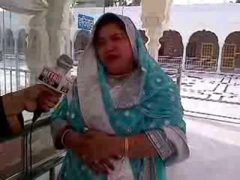 Dolly Bindra at Nankana Sahib Gurudwara Lahore Pakistan.1