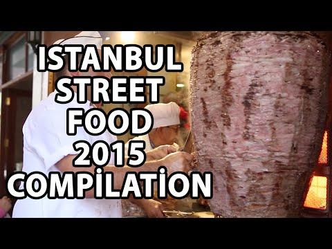 Istanbul Street Food 2015 - Istanbul Street Food Compilation - Turkish Street Food