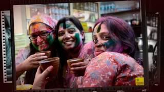 दुनिया के सबसे रंगीन होली live   2017 world biggest holi festival of colors happyholi  youtube