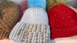 Идеи вязаных женских шапок 2019
