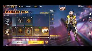 Free fire new elite pass season 25| free fire new fabled fox elite pass| fabled fox elite pass,,