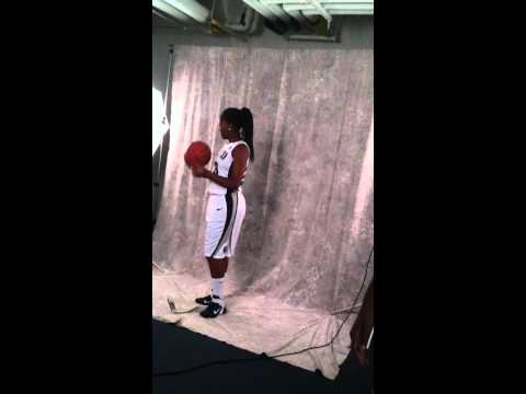 Georgetown Women's Basketball Team Photo Shoot ( Samisha Powell)