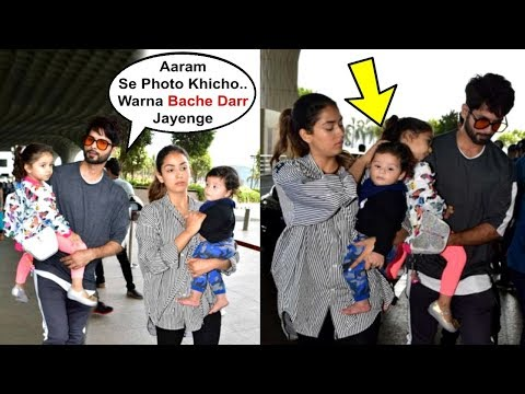 Shahid Kapoor Tells Media To Click Pictures Carefully Of His Kids Misha And Zain Kapoor Mp3
