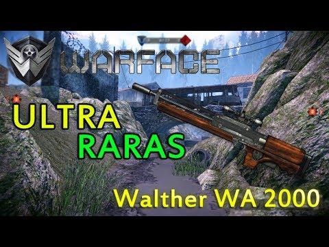 Warface Ultra Raras Walther WA 2000