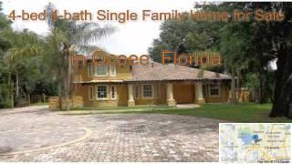 4-bed 4-bath Single Family Home for Sale in Ocoee, Florida on florida-magic.com