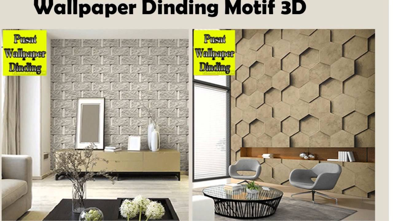 Motif Motif Wallpaper Dinding Vinyl YouTube