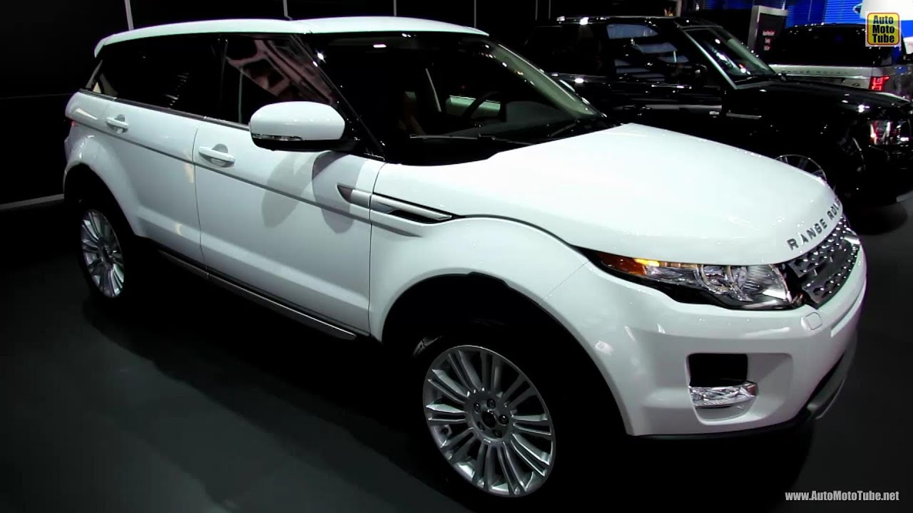 2013 range rover evoque exterior and interior walkaround for Interieur evoque