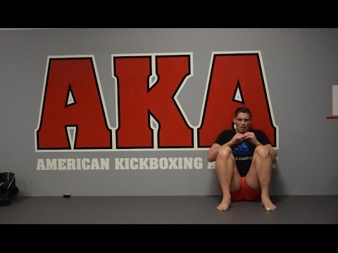 Training at AKA with Rico Verhoeven - Day 1