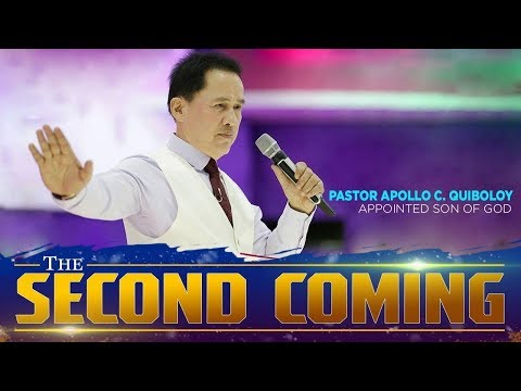 'The Second Coming'  by Pastor Apollo C. Quiboloy • Full Preaching • SMNI