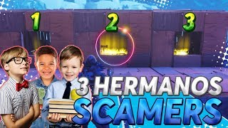 SCAMEING A 3 SCAMMERS BROTHERS E LOSE ALL INVENTORY! - Fortnite Salva il Mondo