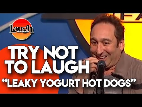 Try Not to Laugh | Leaky Yogurt Hot Dogs | Laugh Factory Stand Up Comedy