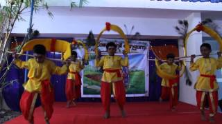 Kavadi Dance by Kids during Pongal Celebrations