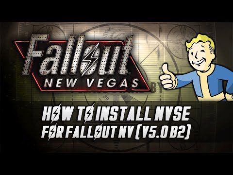 How to Install - Fallout NV Script Extender (NVSE) v5.0 b2