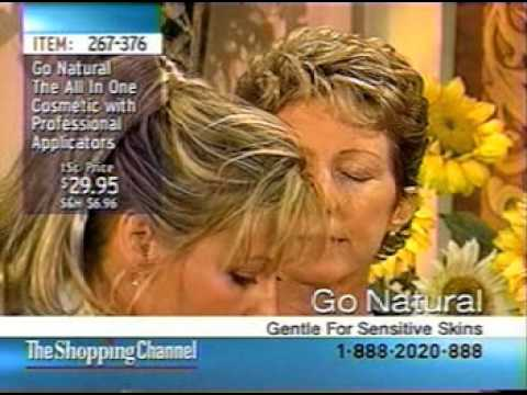 1999 Canada Launch of Go-Natural The All-In-One Cosmetic Makeup on TSC Toronto Shopping Channel