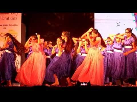 Narayana ECIL 9th class dance