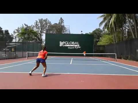 Karla Contreras Tennis player Panama