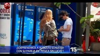 """¡Sorprendimos a Augusto Schuster con su pareja de """"Pitucas Sin Lucas""""!"""