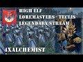 Teclis Loremasters Legendary - Total Warhammer II - Part 1 - 4xAlchemist