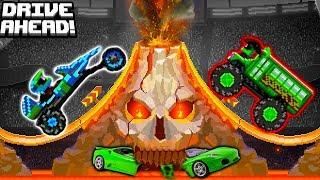 Новые и про машинки СРАЖЕНИЕ за ЛЕТО видео   битва машинок гонки Drive AHEAD #FGTV