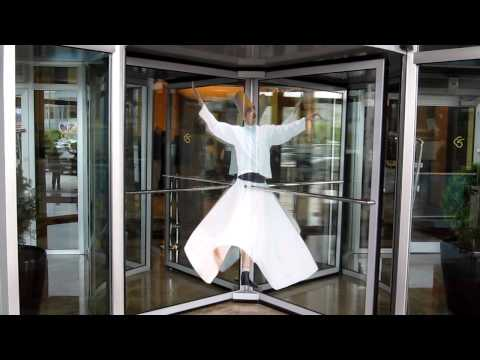 Treasures of Turkey 2011 - Revolving Door at Ankara Hilton