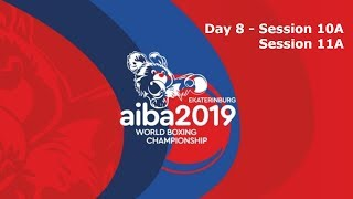 AIBA Men's World Boxing Championships 2019 Ekaterinburg. Day 8. Ring A