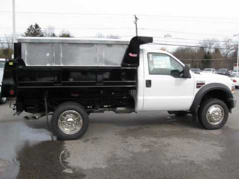 Framingham Ford Ford F550 4x4 Rugby dump - YouTube