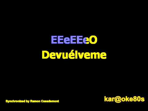 Karaoke  Amanecer .Edurne