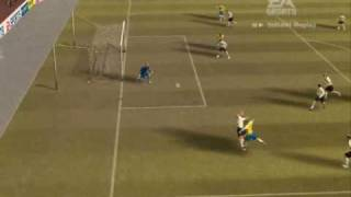 Match of the Day - England vs Brazil on FIFA 07  PC (Part 1)