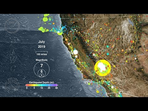 Download Earthquakes of California: 1989 - 2019 Mp4 baru