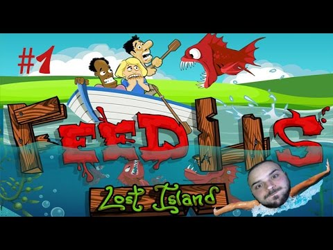Kayıp Adada Kiral Pirana Saldırısı - Feed Us Lost island #1