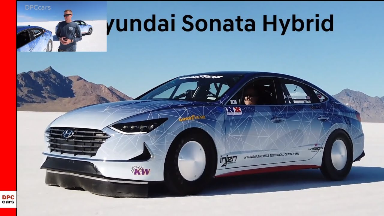 2020 Hyundai Nexo And Sonata Hybrid Land Speed Record Attempts