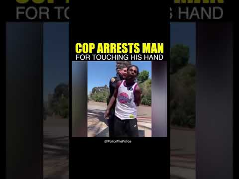 Good Cop Goes Hands On |