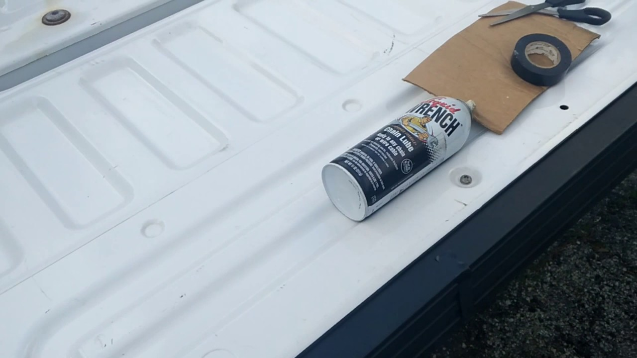 F-150 SQUEAKY TAILGATE FIX (EASY AND CHEAP FIX!!)