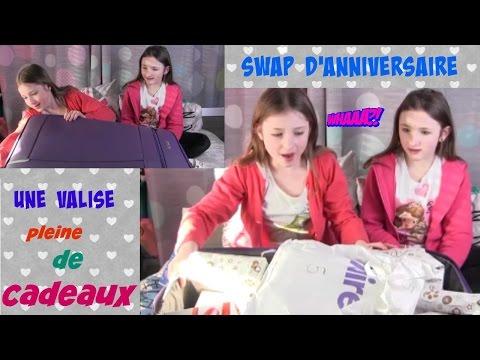 spécial swap anniversaire 13 ans: une valise pleine de cadeaux
