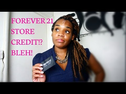 Forever Store Merchandise Credit