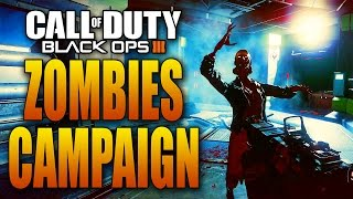 "Black Ops 3 ""NIGHTMARES"" - Mission 1 - Zombie Outbreak (BO3 Zombies Story Mode)"