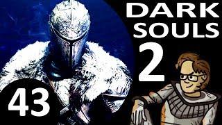 Let's Play Dark Souls 2 Part 43 - The Pursuer, Drangleic Castle, Heide Lance (Cleric, Blind)