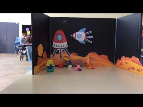Kids Animations   YWCA  Turner Primary School   Group B   Space Fun   ACT