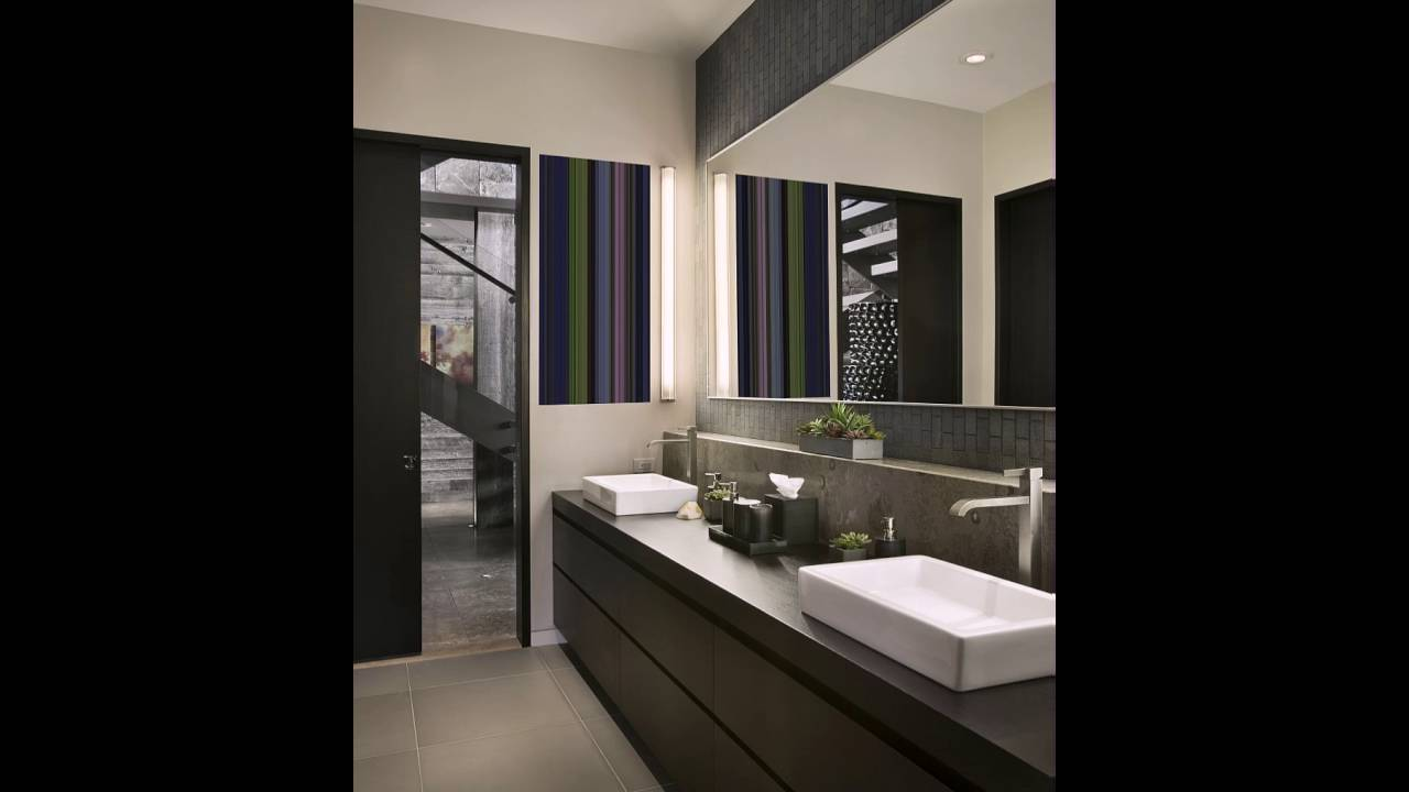moderne g ste wc im stilvollen ski resort youtube. Black Bedroom Furniture Sets. Home Design Ideas