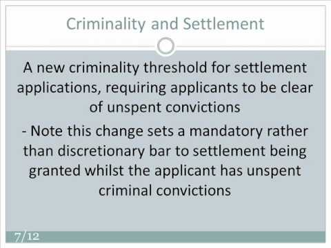 An Explanation of UK Immigration Law Changes April 2011