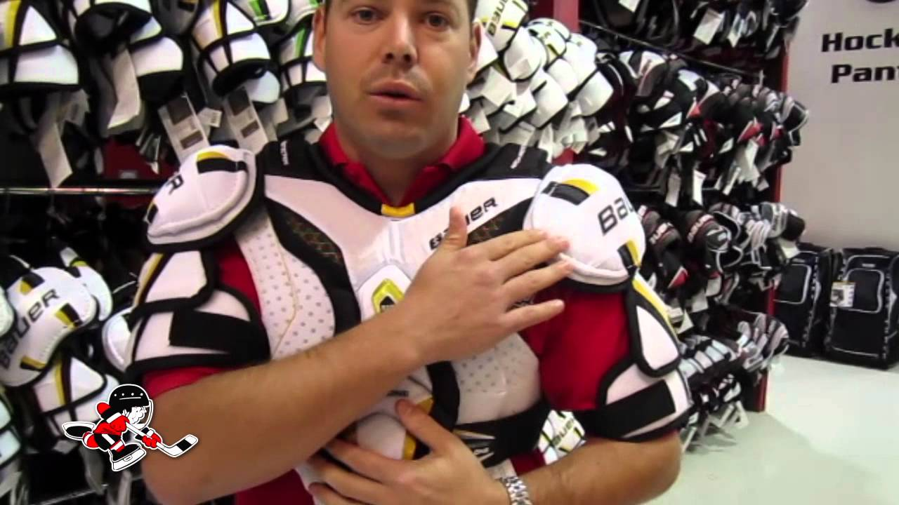 How To Properly Fit Shoulder Pads: Pro Hockey Life - YouTube