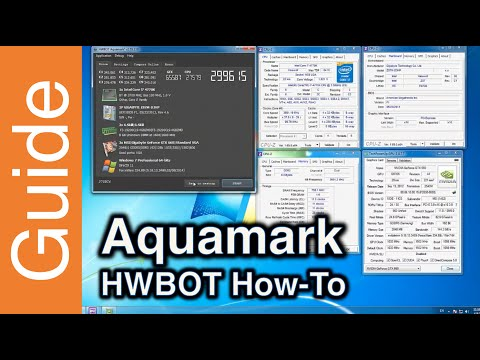How to submit with Aquamark at HWBOT
