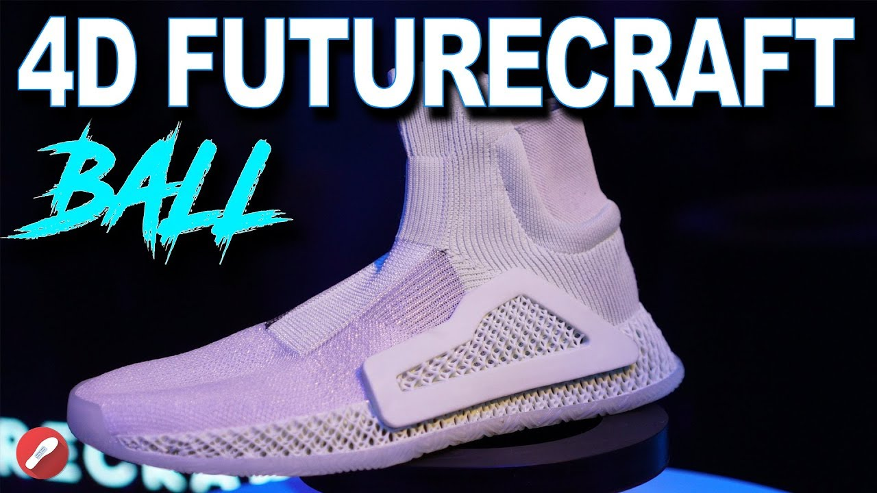 more photos 3d060 b3ba3 Adidas 4d FutureCraft Laceless Basketball Initial Thoughts! Is it the  Future of Basketball