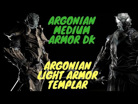 ESO PVP Medium Armor DK and Light Templar