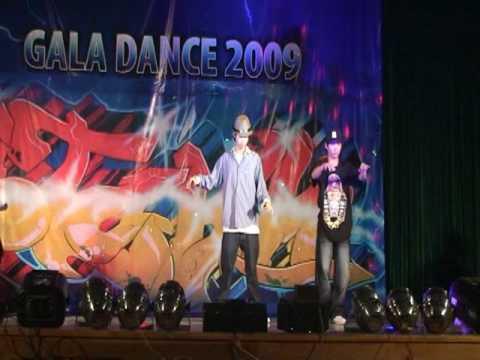 Biễu diễn dance poping - Vũ đoàn Storm - Đêm nhạc Gala Dance