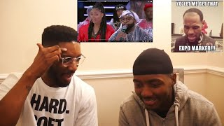 "EMMANUEL HUDSON PUTS AN END TO GETTING PIED - WILD ""N"" OUT - #PIEORDIE (REACTION VIDEO)"