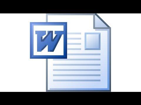 Microsoft Word. Вставка рисунков и специальных символов